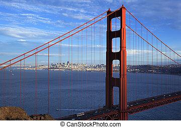 הבט, של, מפורסם, גשר של שער זהוב