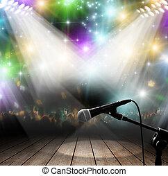 הופעה של מוסיקה