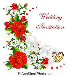הזמנה, חתונה
