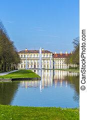 היסטורי, טירה, schleissheim, ליד, מינכן