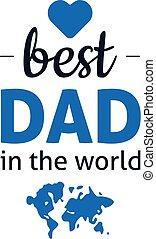 הכי טוב, עולם, אבא