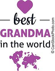 הכי טוב, עולם, סבתא