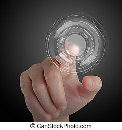 העבר, ו, touchscreen, טכנולוגיה