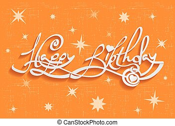 העבר, לאטארינג, כרטיס, דש, יום הולדת שמח