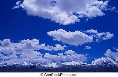 השלג, הרים