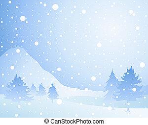 השלג, רקע