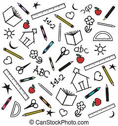 השקע, רקע, בית ספר