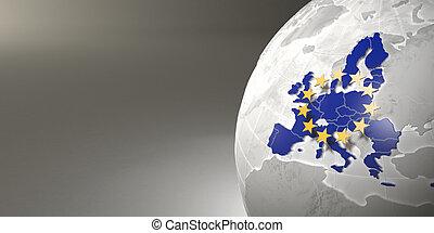 התאחדות, מפה, אירופאי, הארק