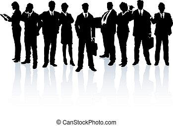 התחבר, אנשים של עסק