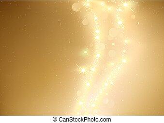 התנצנץ, זהב, רקע