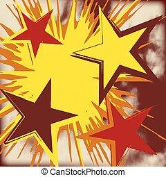 התפוצצות, star., גראנג, רקע
