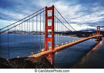 ה, מפורסם, גשר של שער זהוב