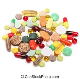 ויטמינים, קדורים, גלולות