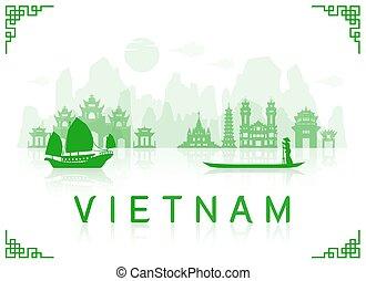 ויטנאם, טייל, landmarks.