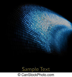 וקטור, גיאומטרי, טק, רקע., וקטור, יצירתי, רקע., eps10