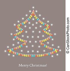 וקטור, עץ, חג המולד