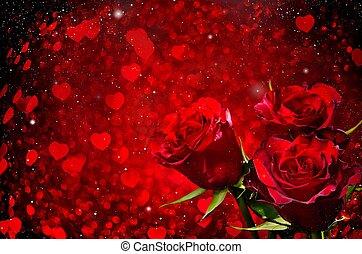 ורדים, יום של ולנטיינים, רקע