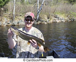 זאב מים, לדוג, צפוני