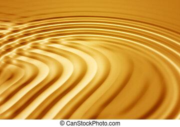 זהב, גלים