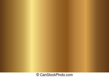זהב, טקסטורה
