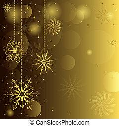 זהוב, חג המולד, רקע