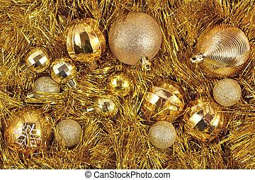 זהוב, קישוטים של חג ההמולד