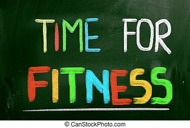 זמן, ל, כושר גופני, מושג