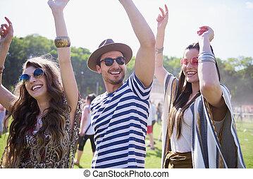 זמן, פסטיבל, קיץ, מוסיקה