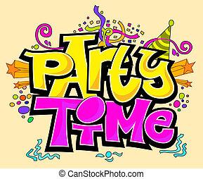 זמן של מפלגה