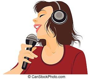 זמר, מיקרופון