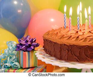 חגיגה של יום ההולדת