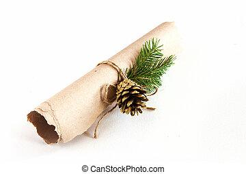 חג המולד, מכתב