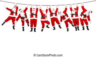 חג המולד, סנטה