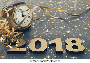חדש, שמח, 2018, שנה