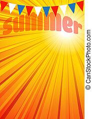 חוברת, טייס, רקע, קיץ