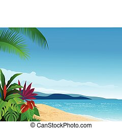 חוף טרופי