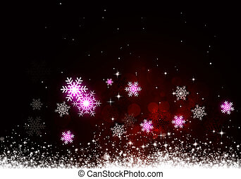 חופשה, חג המולד, רקע, אדום