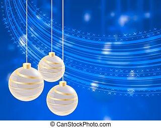 חופשה, מואר, כדור, חג המולד, רקע