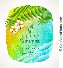חופשות של קיץ, דוגמה