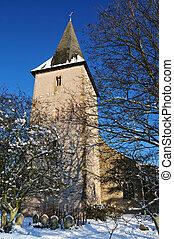 חורף, כנסייה