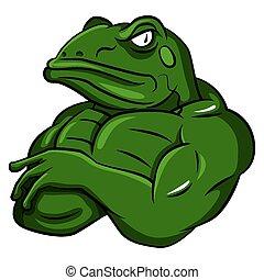 חזק, צפרדע, קמיע