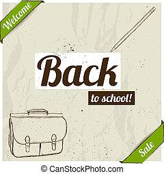 חזרה ל- בית ספר, poster.