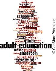 חינוך של מבוגר, מילה, ענן