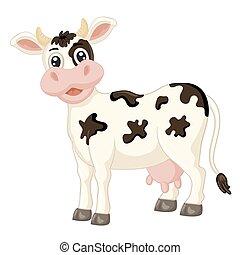 חמוד, פרה, ציור היתולי