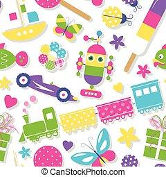 חמוד, צעצועים, תבנית