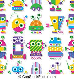 חמוד, רובוטים, אוסף, תבנית
