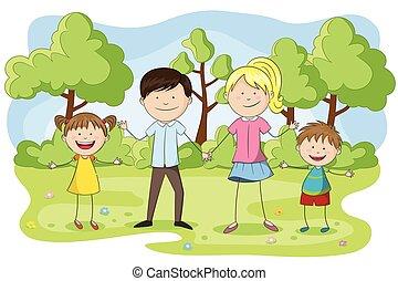 חנה, משפחה צעירה, ילדים