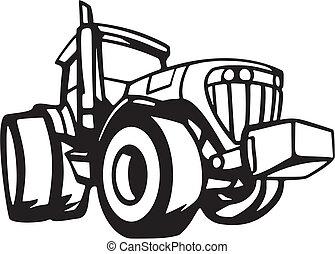 חקלאות, כלי רכב