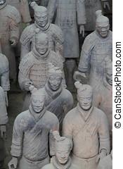 טארראכוטה, צבא, של, קסיאן, ב, סין