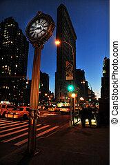 טייל, צילומים, של, ניו יורק, -, מנהאטן
